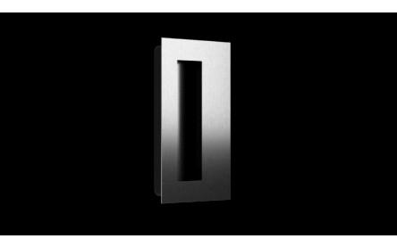 No.776 Offset Rectangular Stainless Steel Flush Door Pull
